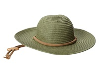 San Diego Hat Company Pbl3016 Large Brim Chin Cord Paper Braid Floppy Sage Traditional Hats Green