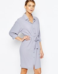 Love Shirt Dress Grey