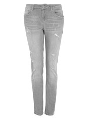 Hallhuber Pre Distressed Boyfriend Jeans Grey