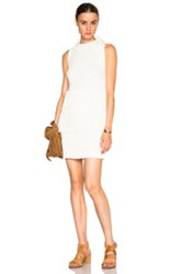 3.1 Phillip Lim Fringe Tank Dress In White