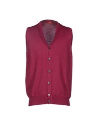 Altea Knitwear Cardigans Men Mauve