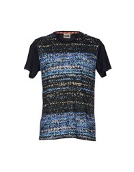 Basso And Brooke T Shirts Dark Blue