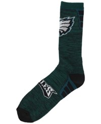 For Bare Feet Philadelphia Eagles Jolt Socks Green Black