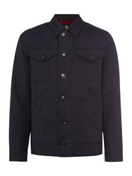 Howick Men's Surrey Wax Jacket Navy