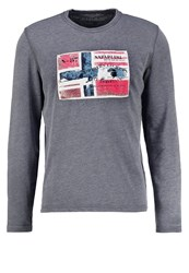 Napapijri Bedar Sweatshirt Dark Grey Anthracite