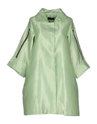 Jo No Fui Coats And Jackets Full Length Jackets Women Light Green