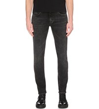 Tiger Of Sweden Pistolero Regular Tapered Stretch Denim Jeans Grey