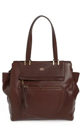 Vince Camuto 'Ayla' Leather Tote Burgundy Black Cherry