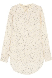 Suno Printed Silk Shirt