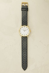 Shore Projects Rye Polka Dot Watch Navy
