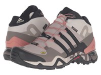 Adidas Terrex Fast R Mid Gtx Vapour Grey Black Tech Earth Women's Hiking Boots Beige