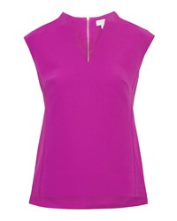 Ted Baker Paysy High Neck Top Purple