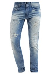Replay Anbass Slim Fit Jeans Destroyed Denim