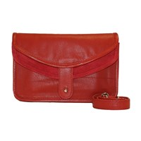 Mei Vintage Convertible Fanny Pack Red