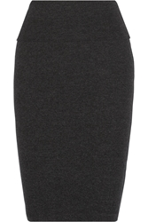 James Perse High Rise Stretch Jersey Skirt