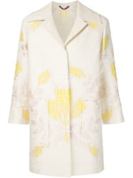 Etro Brocade Jacket White