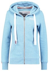 Superdry Orange Label Tracksuit Top Blue Snowy Light Blue