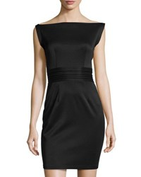 Few Moda Rock The Boat Neck Dress Black