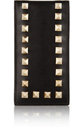 Valentino Ipod Leather Case Black