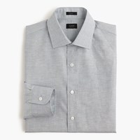 J.Crew Crosby Shirt In End On End Irish Cotton Linen Warm Atlantic