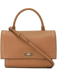 Givenchy Small 'Shark' Tote Brown