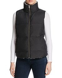 Soft Joie Hendrick Quilted Vest Caviar Heather Grey