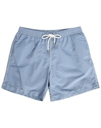 Hartford Blue Chambray Swim Shorts