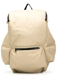 Christopher Raeburn Pack Away Backpack Nude And Neutrals