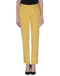 Levi's Made And Crafted Casual Pants Yellow