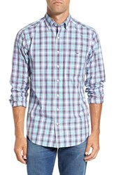 Vineyard Vines Men's 'Flounder Tucker' Slim Fit Plaid Sport Shirt
