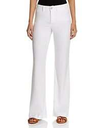 Nydj Wide Leg Trouser Jeans In Optic White