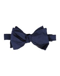 People Bow Ties Dark Blue