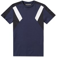 Neil Barrett Retro Modernist Tee Blue