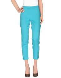 Diana Gallesi Trousers Casual Trousers Women Turquoise