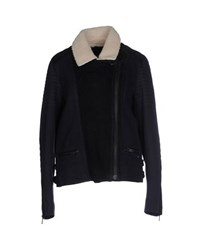Maison Scotch Coats And Jackets Jackets Women Dark Blue