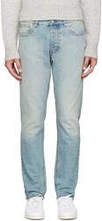 Ami Alexandre Mattiussi Blue Light Wash Jeans