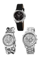 Akribos Xxiv Women's Three Watch Set Multi