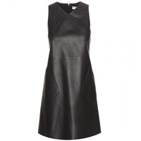 Balenciaga Leather Shift Dress