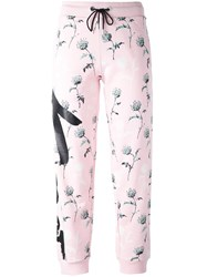 Kenzo 'Dandelion' Track Pants Pink And Purple