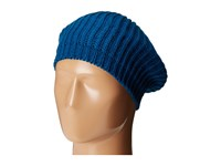 San Diego Hat Company Knh3431 Knit Beret With Ribbed Opening Moroccan Blue Berets