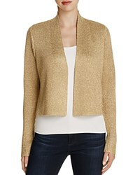 Calvin Klein Metallic Shrug Gold