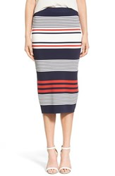 Trouve Women's Trouve Sweater Knit Pencil Skirt
