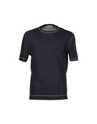 Lo Not Equal Short Sleeve T Shirts Azure