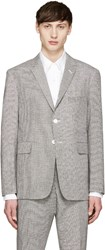 Thom Browne Black And White Funmix Blazer