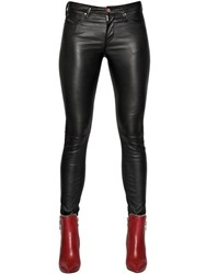 Diesel Bonded Stretch Leather Pants