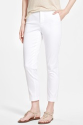 Nydj Stretch Skinny Ankle Pants Regular And Petite White