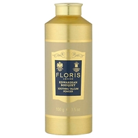Floris Edwardian Bouquet Soothing Talc With Aloe Vera 100G