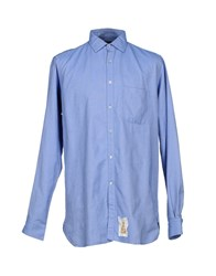 Guy Rover Shirts Shirts Men Blue