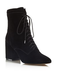 Rebecca Minkoff Lila Lace Up Booties 100 Bloomingdale's Exclusive Black