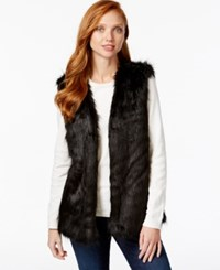 Tommy Hilfiger Reversible Faux Fur Sweater Vest